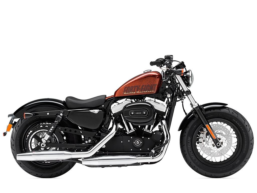 Harley-Davidson Forty-Eight (2014) - 2ri.de