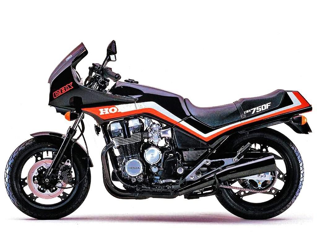 Honda motorrad modelle 1985