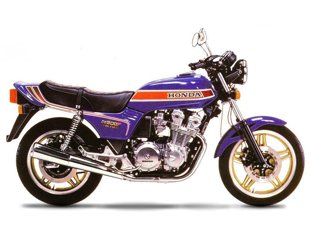 1981 Honda CB900F Bol d`Or - Moto.ZombDrive.COM