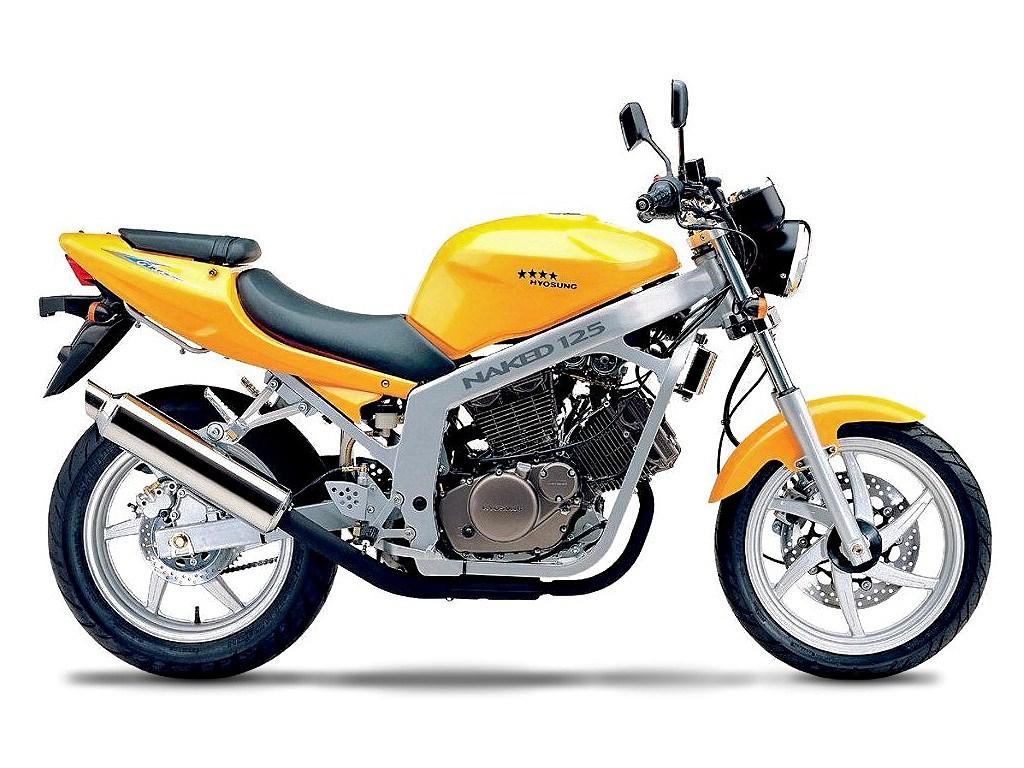 Gebrauchte Hyosung GT 125 Naked Motorräder kaufen