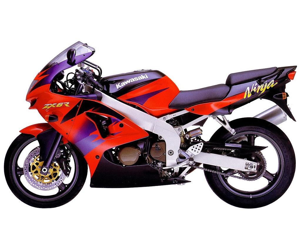 Kawasaki Ninja Zx 6r 1998 2ri De