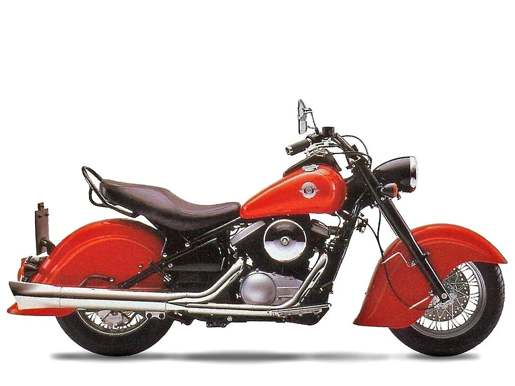 Kawasaki Drifter  Dual Exhaust