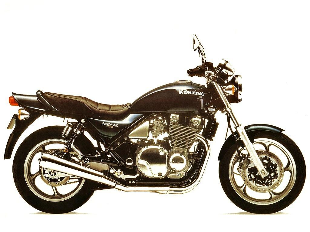 1993 Kawasaki Zephyr 1100 - Moto.ZombDrive.COM