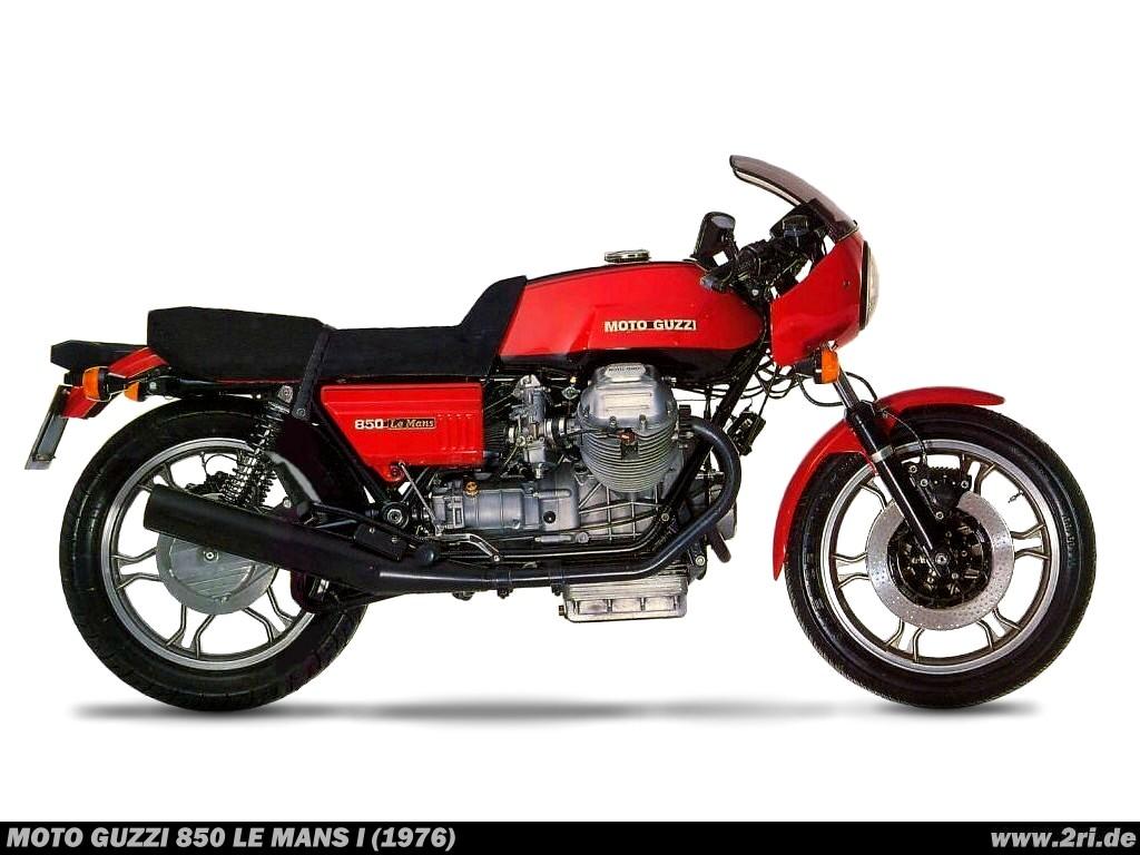 Moto Guzzi 850 Le Mans I (1976) - 2ri.de