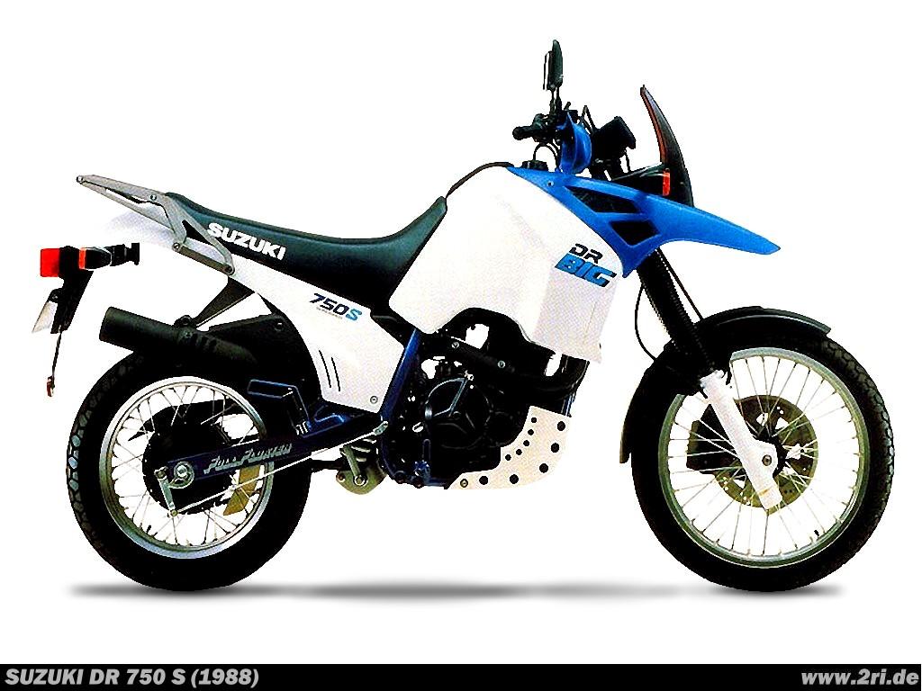 Suzuki DR 750 S (1988) - 2ri.de