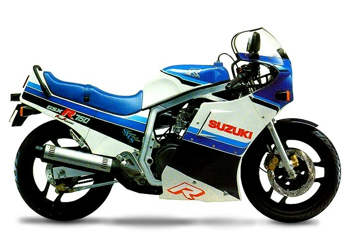 suzuki gsx r750 1986. Black Bedroom Furniture Sets. Home Design Ideas