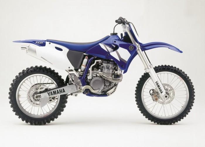 Yamaha yz450f specs for Yamaha yz 426