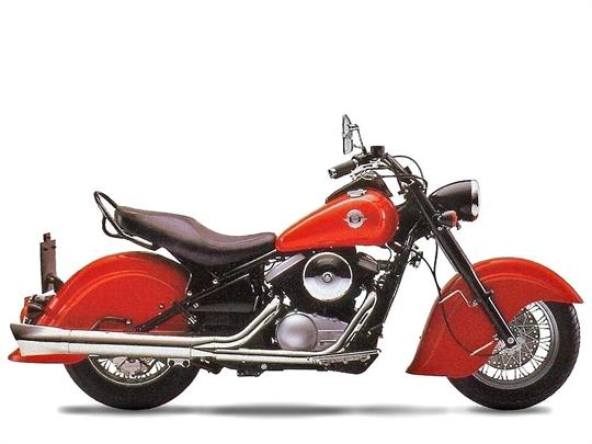 Dual Exhaust For  Kawasaki Vn