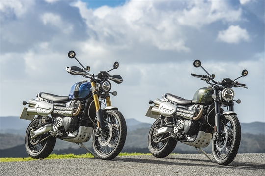 Performance in Bestform: TRIUMPH Scrambler 1200 XC/XE