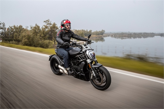 Ducati X-Diavel packt bei Euro 5 acht PS drauf