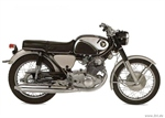 Honda CB77 Super Hawk (1966)